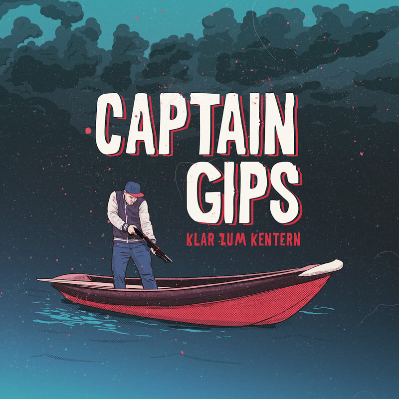 Album Cover - Captain Gips - KLAR ZUM KENTERN